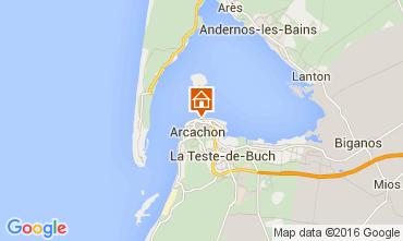 Map Arcachon Apartment 105537