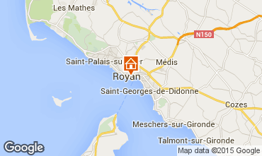 Map Royan One-room apartment 6824