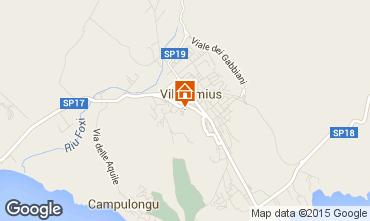 Map Villasimius House 93034