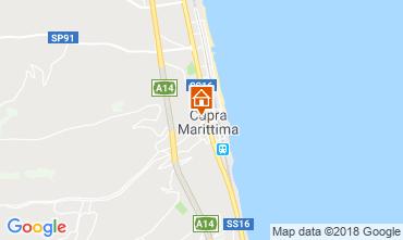 Map Cupra Marittima Apartment 52647