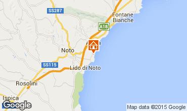 Map Noto Villa 98145