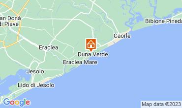 Map Caorle Apartment 114442