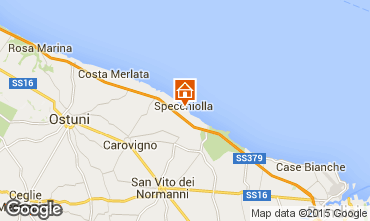 Map Ostuni Villa 95672