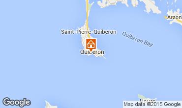 Map Quiberon Apartment 16462
