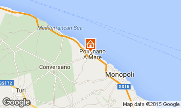 Map Polignano a Mare Apartment 61861