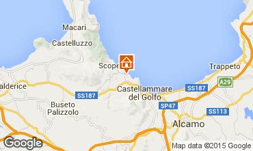 Map Scopello Apartment 76816