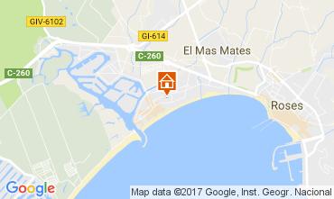 Map Rosas Apartment 99658