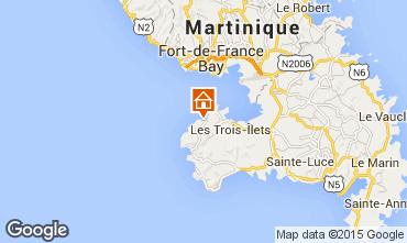 Map Trois Ilets Apartment 75673