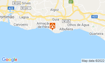 Map Albufeira Apartment 112861