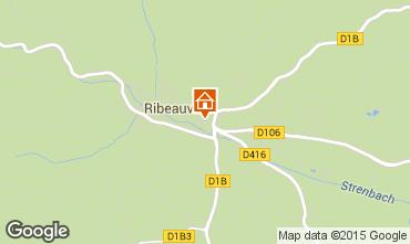 Map Ribeauvillé Apartment 70208