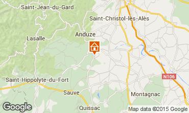 Map Anduze Villa 83534