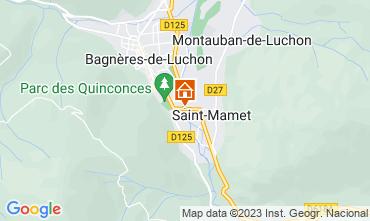 Map Luchon Superbagneres Apartment 39848
