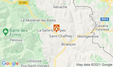 Map Serre Chevalier Apartment 44850
