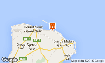Map Djerba Villa 9885