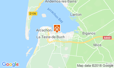 Map Arcachon House 110612