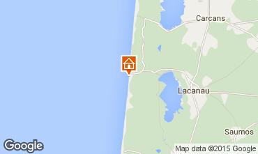 Map Lacanau Apartment 6710
