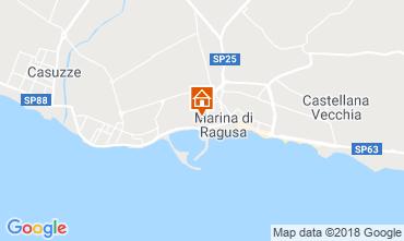 Map Marina di Ragusa Apartment 93991
