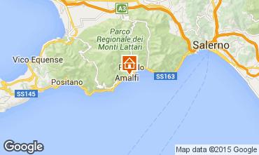 Map Amalfi House 24852