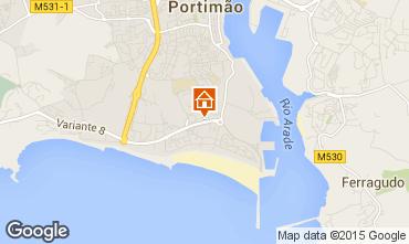 Map Portimão Apartment 87245