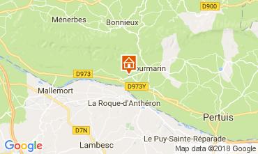 Map Lourmarin House 113252