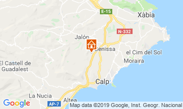 Map Calpe House 116425