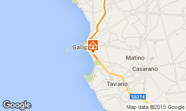 Map Gallipoli Apartment 72583