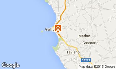 Map Gallipoli Apartment 72583