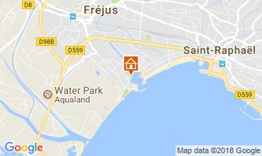Map Fréjus Apartment 115918