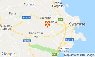 Map Syracuse Villa 116919