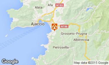 Map Porticcio House 67722