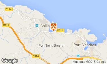 Map Collioure Apartment 78947