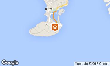 Map Nusa Dua Villa 98316