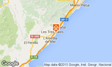 Map La Ametlla de Mar Villa 59751