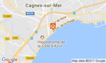 Map Cagnes sur Mer Apartment 111275