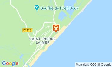 Map Saint Pierre la Mer Villa 116974