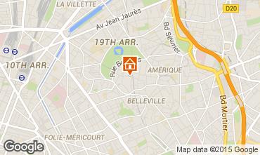 Map PARIS One-room apartment 63317