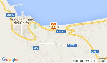 Map Castellammare del Golfo Apartment 105770