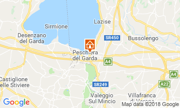 Map Peschiera del Garda Apartment 116716