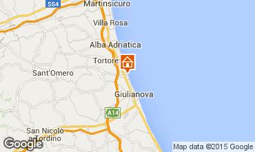 Map Giulianova Apartment 35266
