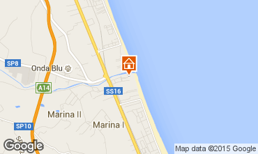 Map Giulianova Apartment 35266