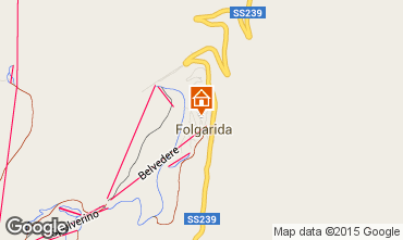 Map Folgarida Apartment 81669