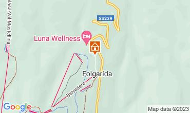 Map Folgarida Apartment 81669