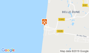 Map Quend Plage Apartment 117724