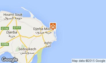Map Djerba Apartment 58841