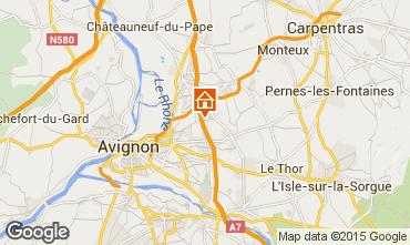 Map Vedène Apartment 101756