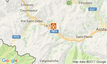 Map Courmayeur House 110625