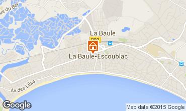 Map La Baule Apartment 41961