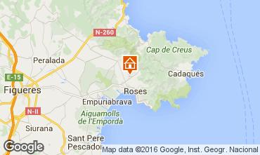 Map Rosas Villa 85882