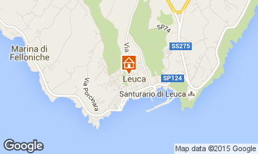Map Santa Maria di Leuca Apartment 84118
