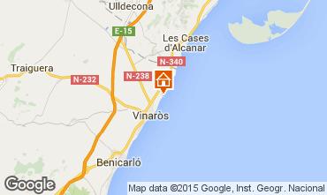 Map Vinaròs Apartment 80636
